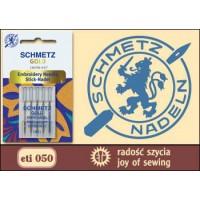 050 SCHMETZ GOLD EMBROIDERY NEEDLES