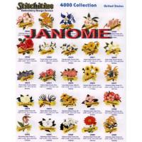 Janome 4000 Catalog Book.